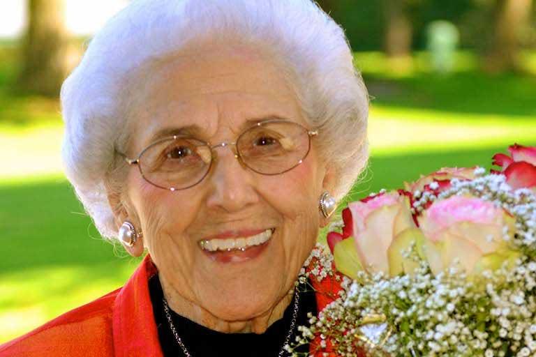 Alma Martin at 100