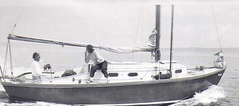 Sailing with Jimmy