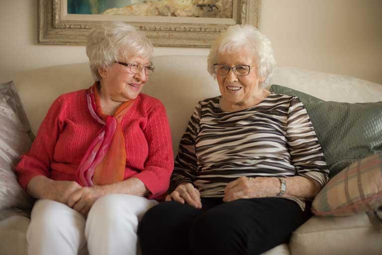 Selma and Lillian
