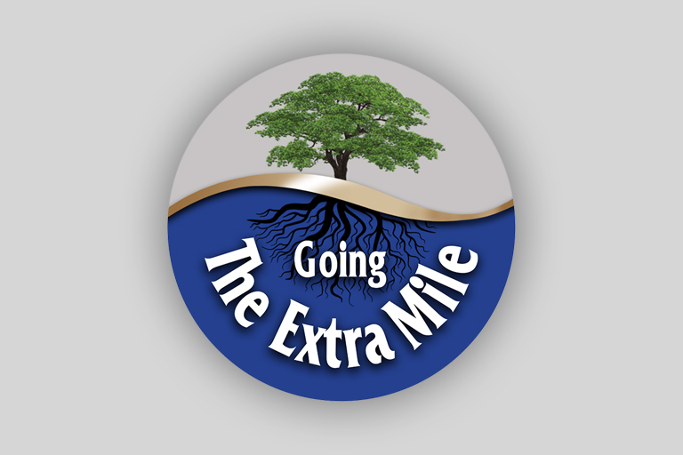 February Going the Extra Mile Winners