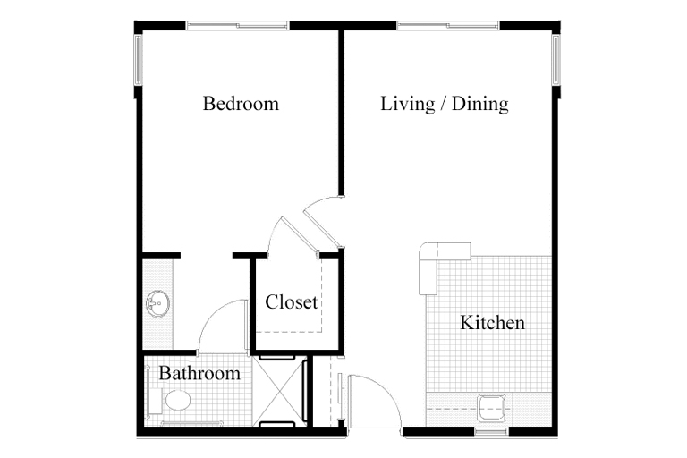 The AbbeWood One Bedroom
