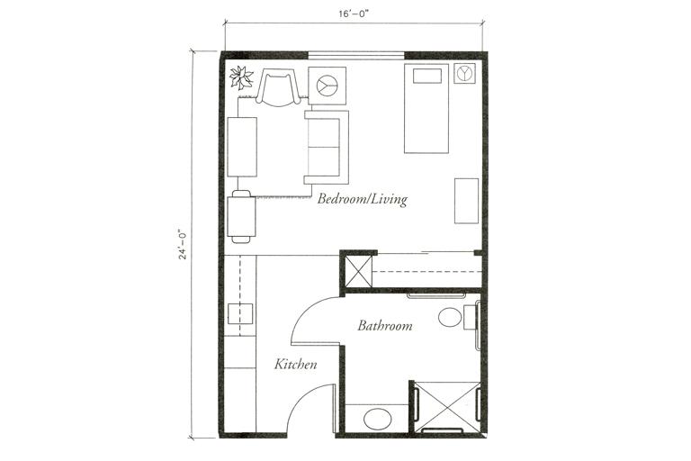 Floor Plans Senior Living Charleston, South Carolina