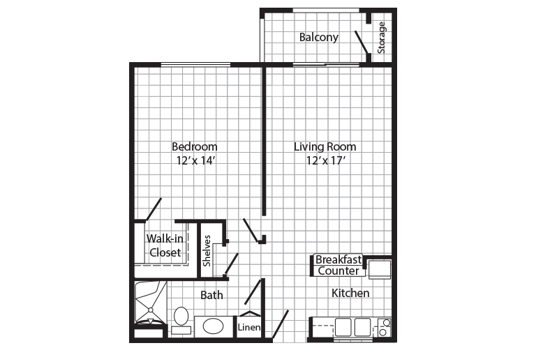 Cherry Creek Retirement Village One Bedroom