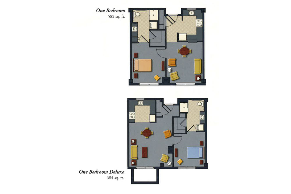 Garden Plaza at ClevelandIndependent Living One Bedroom