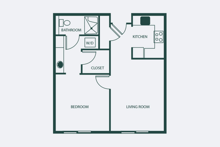 One Bedroom Aurora