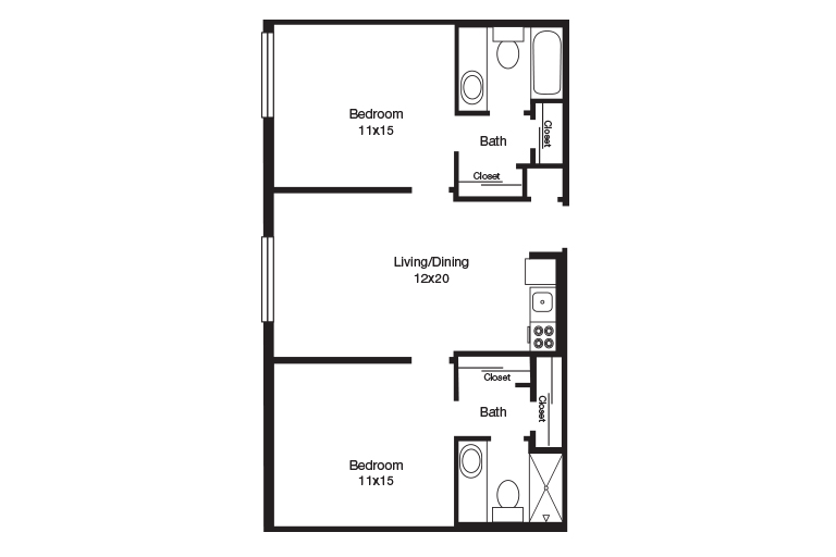 Remington Heights Two Bedroom
